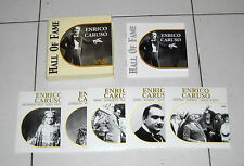 Box 5 Cd ENRICO CARUSO Hall of fame - 2002 PERFETTO Verdi Puccini Mascagni