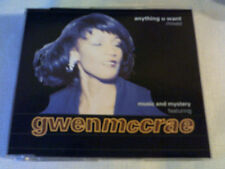 MUSIC & MYSTERY / GWEN MCCRAE - ANYTHING U WANT (MIXES) - HOUSE CD SINGLE