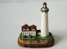 MINIATURE Mini LIGHTHOUSE Figurine WIND POINT, WISCONSIN NEW    AP189N