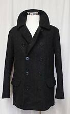J Crew Dock Peacoat With Thinsulate Wool Charcoal Medium NWT 05536 $298