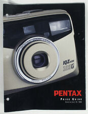 PENTAX PRICING GUIDE 1999