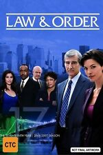 Law and Order: Season 17 NEW R4 DVD