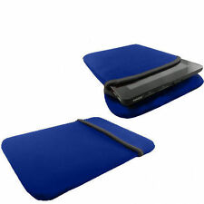 10.1 Pollici Tablet Custodia Soft Case-ASUS VIVO TAB RT tf600t-Neoprene Blu 10