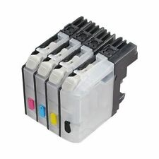 4 Refillable ink cartridge for Brother LC101 LC103 LC105 LC107 MFC-J875DW J870DW