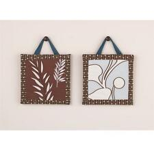 CoCaLo Naturals Tranquil  Eco Friendly Nursery 2-Pc Decorative Wall Art Hanging