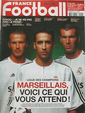 France Football n°2996 - 2003 - Marseille - Govou - Cuperly - Violeau -Pichon