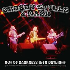 STILLS & NASH CROSBY - OUT OF DARKNESS INTO DAYLIGHT  2 CD NEU