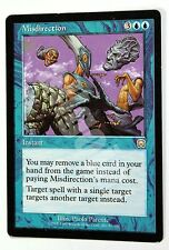 MTG MMQ 1x MISDIRECTION (Sviare) Rare EX- Mercadian Masques