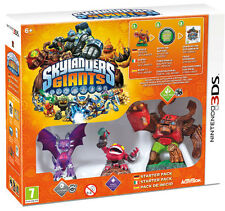 Skylanders Giants Starter Pack 3DS - totalmente in italiano