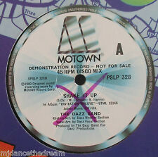 "DAZZ BAND ~ Shake It Up / HIGH INERGY ~ Hold On To My Love ~ 12"" Single DEMO"