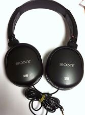 Sony MDR-NC8 Noise Cancelling Over Ear Stereo Headphones Black - Genuine