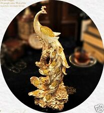 Gold Export Phoenix Statue Sculpture Figurine -the most famous bird in Feng Shui