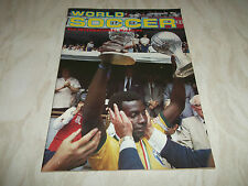 Football Magazine World Soccer September 1983 Hamburger SV Lev Yashin Celtic