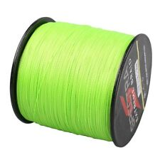 300m 30LB Fluorescent Green 100%PE Dyneema Braided New Fishing Line Spectra
