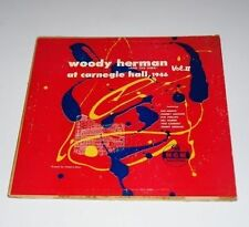 "WOODY HERMAN LP 10"" At Carnegie Hall Vol.2 1952 MGM E-158 Vinyl Jazz Record"