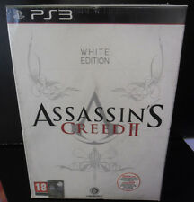 ASSASSIN'S CREED II 2 WHITE COLLECTOR'S EDITION NUOVA VERSIONE ITALIANA PS3