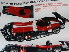 PANOZ LMP Le Mans 24 2000 DEN BLA AVIS Provence Moulage 1/43 Resin Model Kit PM