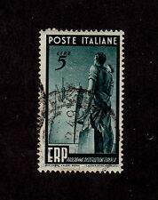 Italy - 1949 - SC 515 - Used - Workman and Ship