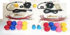 Sanwa Kit Arcade Joystick e pulsanti pushbutton originale Giapponese ogni colore
