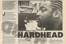 29/4/89Pgn20 Article & Picture 'hardhead' Hard Rappin Gangster On Hip-hop Just I