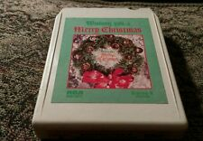 8-Track WISHING YOU A MERRY CHRISTMAS Floyd Cramer Chet Atkins Dottie West HTF
