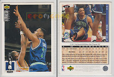 NBA UPPER DECK 1994 COLLECTOR'S CHOICE - Stacey King # 28 - Ita/Eng- NM