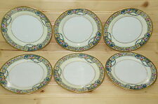 """Thomas Columbia Bavaria Lot of (6) Dessert or Bread & Butter Plates, 6 1/8"""""""
