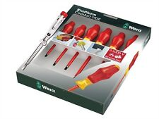 Wera Kraftform Comfort VDE 6 Piece Screwdriver Set & Voltage Tester - 031576