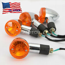 4pcs Bullet Turn Signals For Suzuki Intruder Volusia VS 700 750 800 1400 1500 US