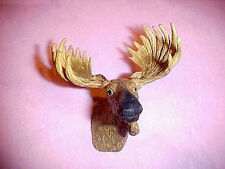Dollhouse Miniature Small Moose Head Trophy w Antlers Miniatures for Doll House