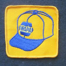 """NAPA EMBROIDERED SEW ON ONLY PATCH AUTO PARTS CAR BASEBALL CAP 3"""" x 3"""""""