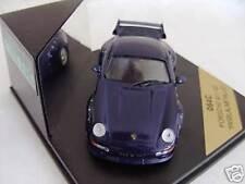 Rare vitesse porsche 911 993 GT2 street iris bleu métallisé 1:43 ltd edt