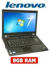 "Lenovo ThinkPad T420 intel Core i5 2.5GHz 14.1"" Laptop 8GB RAM 128GB SSD HDD"