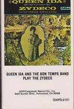 "QUEEN IDA & THE BON TEMPS BAND ""PLAY THE ZYDECO"" CASSETTE 1976"
