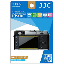 JJC LCP-X100T ultra hard polycarbonate LCD Film Screen Protector Fuji X100T 2Pcs