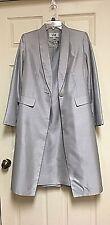 LeSuit Silver Gray 2 pc. Dress Jacket Coat Size 6