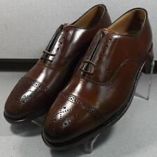 24D0940 ES50  Men's Shoes Size 9.5 M Dark Tan 1850 Collection Johnston Murphy
