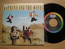 KATRINA AND THE WAVES Is That It? SPAIN 45 1986 NM