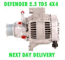 LAND ROVER DEFENDER 2.5 TD5 4X4 1998 1999 2000 2001 2002 > on RMFD ALTERNATOR