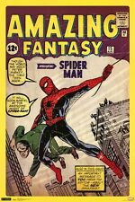 Spiderman Amazing Fantasy Classic 24x36 Comic Book Poster Marvel Spider-man