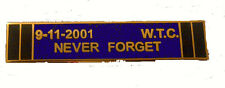 Uniform Citation Bar - 9-11 Never Forget Purple