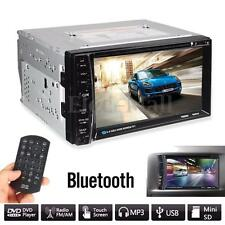"6.2"" HD Touch Screen Double 2DIN Car Stereo MP5 DVD CD Player Bluetooth Radio"