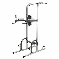 Gold's Gym XR 10.9 Power Tower Home Station Train Chin Pull Up Exercise Machine