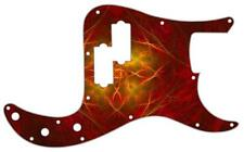 P Bass Precision Pickguard Custom Fender 13 Hole Guitar Pick Guard Abstract 10