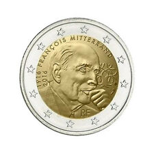 "France 2 Euro commemorative coin 2016 ""Mitterrand"" - UNC **NEW**"