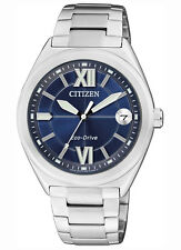 Citizen Ladies Stainless Steel Eco-Drive Solar Power Watch. Classic. FE6000-53L