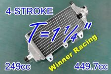 Right/Fill/CAP SIDE;Aluminum radiator YAMAHA YZ250F YZ450F 4-STROKE 2014-2017