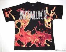 METALLICA Vintage T Shirt 90's Tour Concert 1996 Load ALLOVER PRINT XXL Band