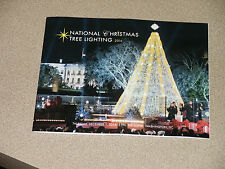 NATIONAL WHITE HOUSE XMAS TREE LIGHTING PROGRAM 2016 President Barack OBAMA DC