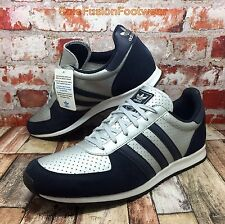 adidas Mens adistar Racer Trainers Silver/Blue size 9.5 NEW Sneakers US 10 EU 44